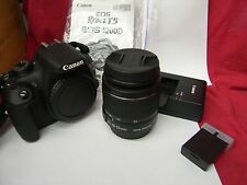 Canon EOS Rebel T5i  18.0 MP kit w 18-55mm lens , charger, 2 batteries, 16 Gb SD