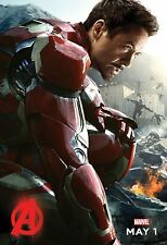 Avengers 2 Age of Ultron (2015) Movie Poster (24x36) - Iron Man Robert Downey Jr