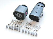 AUDI VW SKODA 6 Polig STECKER Connector Satz 3B0973813 und 1J0973713