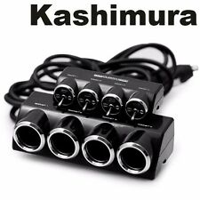 Kashimura JAPAN KX-145 CAR ON/OFF Switch 4WAY LED Light Multi Socket Outlet 12V