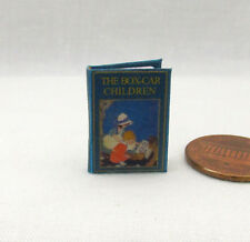 THE BOX-CAR CHILDREN Miniature Book Dollhouse 1:12 Scale Readable Illustrated