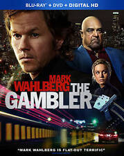 NEW W/SLIP COVER MARK WAHLBERG THE GAMBLER BLU RAY DVD W/UV FREE 1ST CLS S&H