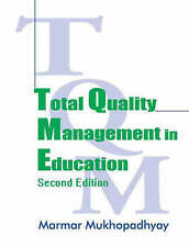 Total Quality Management in Education, Mukhopadhyay, Marmar, Good, Paperback