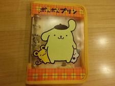 Sanrio pom pom purin notebook memo diary pocketbook 1998 vintage rare