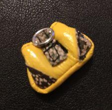 Bratz Doll Clothes Cloe's Original Ooh La La Paris Yellow Snake print Bag