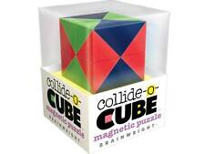 COLLIDE-O-CUBE MAGNETIC PUZZLE BRAIN TEASER MIND NOVELTY TRICK MAGIC TOY GAME
