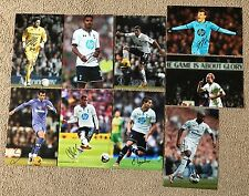 SPURS - Hand Signed 12x8 Photos x9 - Lamela Eriksen Tottenham Hotspur - Football