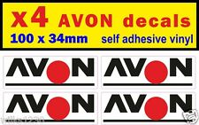 x4 Avon rally race sports car classic decals van mini bus truck sticker bicke gp
