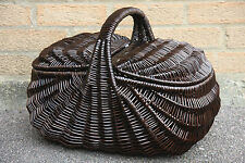 LARGE  -Wicker  Picnic Hamper- handmade