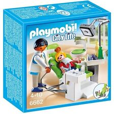 Playmobil Dentist Clinic with Patient Ref 6662 Box New, Discontinued