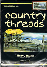 """ Heavy Rains"" Country Threads. Counted Cross Stitch Kit"