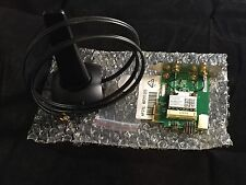 HP WL-LAN 802.11 B/G/N PCI-E WIFI Adapter Card 716869-001 w/ Antenna 497317-003