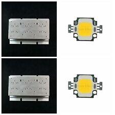 60*120mm Aluminum Heatsink Radiator w 10W Watt Warm White LED Panel