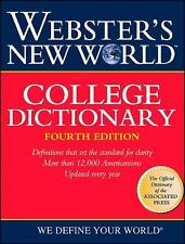 "Webster`S New World College Dictionary, Cleveland:""Wiley Publishing"", Good Book"