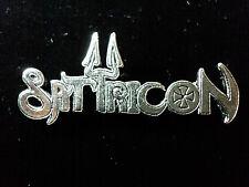 SATYRICON  PIN BADGE
