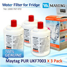 3 SET / UKF7003 MAYTAG FRIDGE FILTER SUIT FOR GS2325,GS2327,GS2727 AND MORE