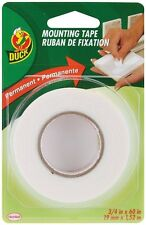 Double Sided Permanent Foam Mounting Tape Duck Brand 3/4 in x 60 in