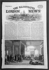 1861 Illustrated London News - Jan to April 1861 America Civil War x 5 Pages