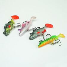 NGT 4pc set of soft lures pike roach trout perch for preditor  fishing