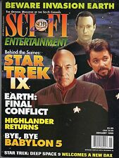 rivista cinema - SCI-FI ENTERTAINMENT -  Anno 1999 Numero 7