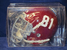 REMEMBER THE TITANS MOVIE - Screen Accurate MINI FOOTBALL HELMET #81 JULIUS