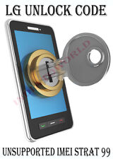 LG parmanent network unlock code for LG GU297 Wink-T Mobile UK