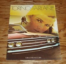 Original 1969 Ford Torino Fairlane Cobra Sales Brochure 69