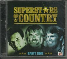 Superstars Of Country: Party Time by Various (CD, 2 Discs, 2005, Time Life)
