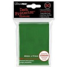50 DECK PROTECTORS GREEN Buste Protettive Verde MAGIC