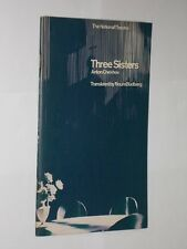 National Theatre Programme 1967 Three Sisters Anton Chekhov With Cast List.