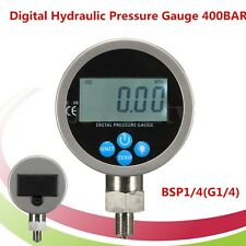 Digital Hydraulic Pressure Gauge 400BAR 700BAR 10000PSI with BSP1/4 Connector