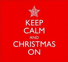 Keep Calm and Christmas On (CD, 2013, 2 Discs, Avalon Records) Sealed 021001117