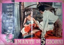1962 L'AMANTE DI 5 GIORNI-Jean Seberg, Micheline Presle, Jean-Pierre Cassel -8