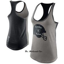 NWT Nike Tops Nike Helmet NFL Raiders Women's Tank Top XL Gray Black Gym Casual
