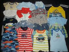 Baby Boys Newborn 0-3M Spring Summer Clothes Lot NB 0 3 Months Carter's Cherokee