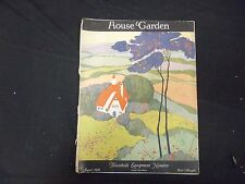 1921 AUGUST HOUSE & GARDEN MAGAZINE - HOUSEHOLD EQUIPMENT NUMBER - ST 2477