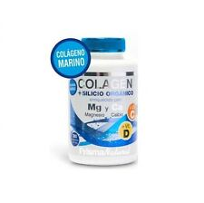 COLLAGENE + SILICIO ORGANICO + MAGNESIO + CALCIO 180 compresse 814mg