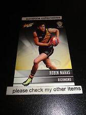 2012 SELECT AFL CHAMPIONS BASE CARD NO.162 ROBIN NAHAS RICHMOND