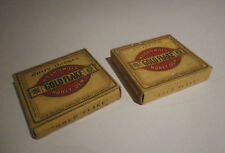 vintage empty cigarette packets