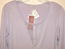 LA PERLA STUDIO H/CAMICIA NOTTE APER SLEEPSHIRT sz 1(XS) NEW$148 AUTHENTIC