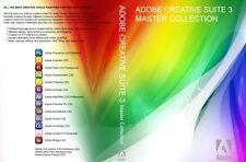 Adobe Creative Suite CS3 Master Collection PC photoshop illustrator acrobat ect.