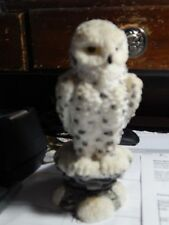 Snowy Owl 6 in Figure Statue Cast, Finished & Detailed
