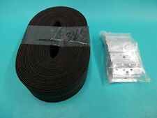 "JUMBO 2"" WEBBING REPAIR KIT SELIG DANISH CHAIR CLIPS EAMES KOFOD LARSEN WICKER"