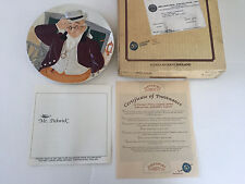 """Davenport England """"Mr. Pickwick"""" 4th Issue """"Toby"""" Collection Collector Plate"""