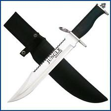 Lg Awesome Survival Knife + Fixed Bld  Stainles Cool Knife + Flint Fire Striker