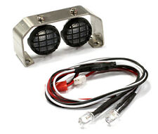 C25391 Roof Top Spot Light Set(L2)LED w/Stainless Steel Mount for 1/10, 1/8,1/5