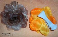 FIORE color TORTORA  PER ADDOBBI SU BORSE, TENDE.... cod.3444