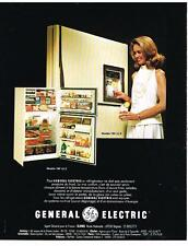 PUBLICITE  1983   GENERAL ELECTRIC   réfrigérateur