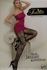 New Fashion Women Sexy Black Fishnet Pattern Jacquard Stockings Pantyhose Tights