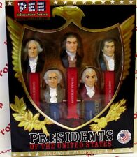 PEZ Volume I Presidents PEZ dispensers Gift Boxed with 6 packs of PEZ Candy